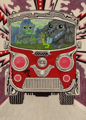 Magic bus by Will Sweeney and Matt Furie