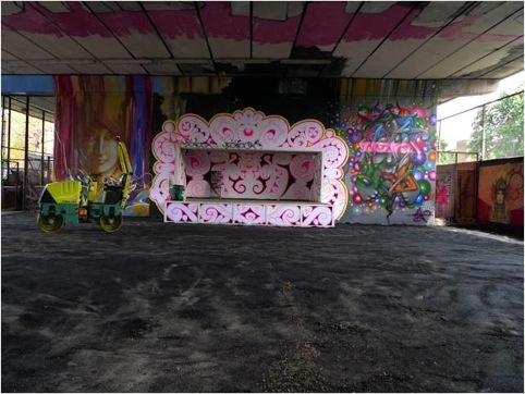 Under the Westway hosts work from street art greats and amateurs alike