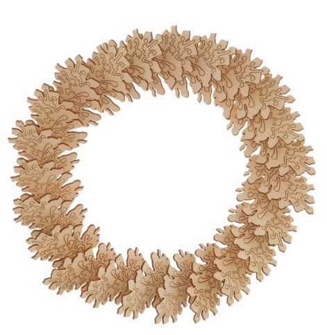 Habitat Sapin wreath