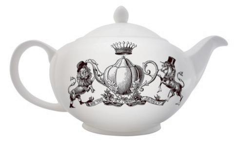Roger La Borde's illustrated teapot