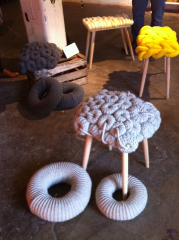 Stools by Claire-Anne O'Brien