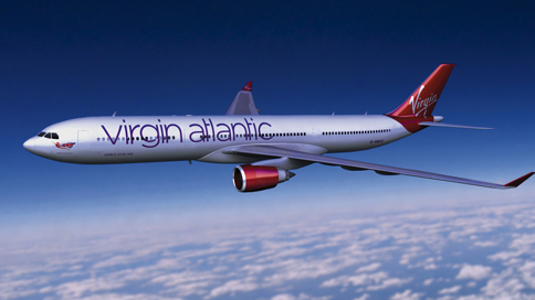 Virgin Atlantic identity by Johnson Banks