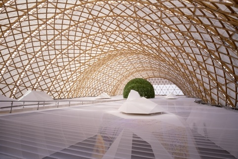 Shigeru Ban Architects Japan Pavillion