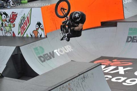 BMX rider Mark Webb