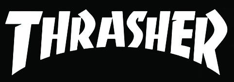 Thrasher magazine masthead