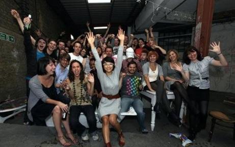 Participants in last year's Onedotzero's Cascade scheme