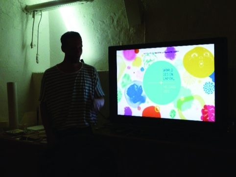 Kokoromoi's work for the design capital