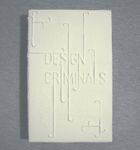 The Design Crimes edible catalogue