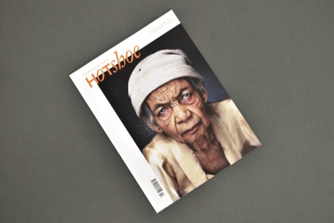 The new look Hotshoe magazine, design by Sarah Boris