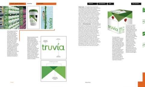 Paula Scher's packaging for Truvia natural sweetner