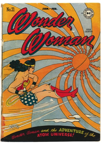 Wonder Woman No. 21. Cover art, H. G. Peter, copyright DC Comics