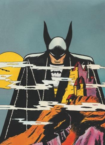Detective Comics No. 31 (detail), cover art, Bob Kane, copyright DC Comics