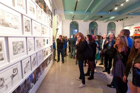 GC Leeds looking at their work