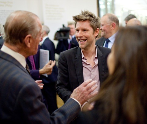 HRH Prince Philip and Chris Bailey