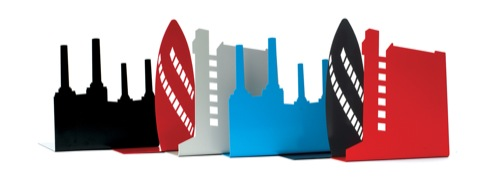 London Landmark bookends by Susan Bradley