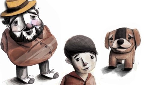 Kingston University, 3 characters from Luka and the Fire of Life.