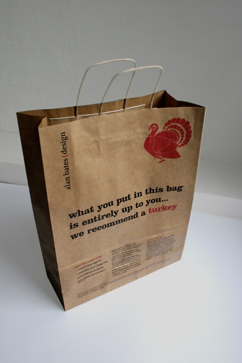 Alan Bates Design's turkey bag