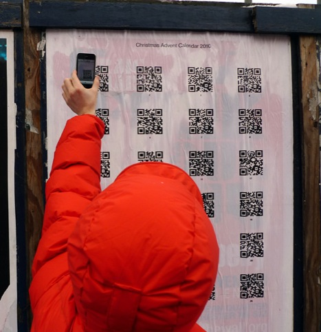 Love's QR code advent calendar