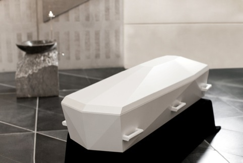 by Jacob Jensen Design for coffin-maker Tommerup Kister
