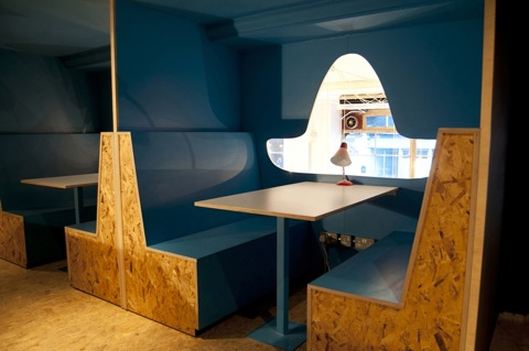 The meeting booths at El Paso