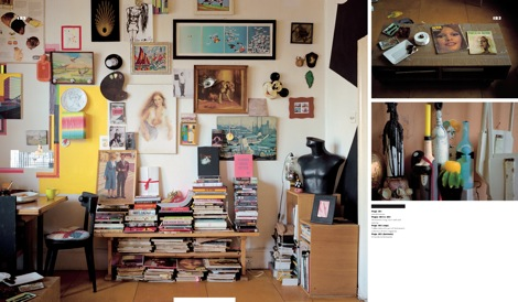 The home of London-based artist Julie Vernhoeven