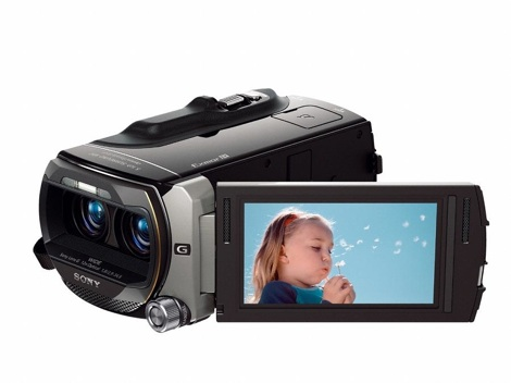 Sony's 3D handycam launched at the show
