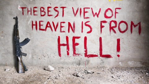 The Best View of Heaven is from Hell (c) Bran Symondson
