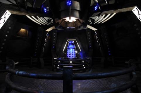 The Darlek Spaceship. Photo by Liam Daniels