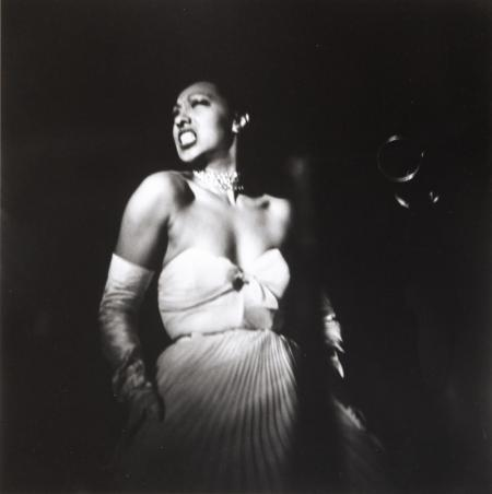 Josephine Baker returns to the US after 25 years absence, New York City, 1950 by Eve Arnold