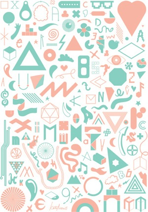 Recycled bits by Kate Moross