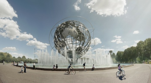 Unisphere by Andrew Brooks