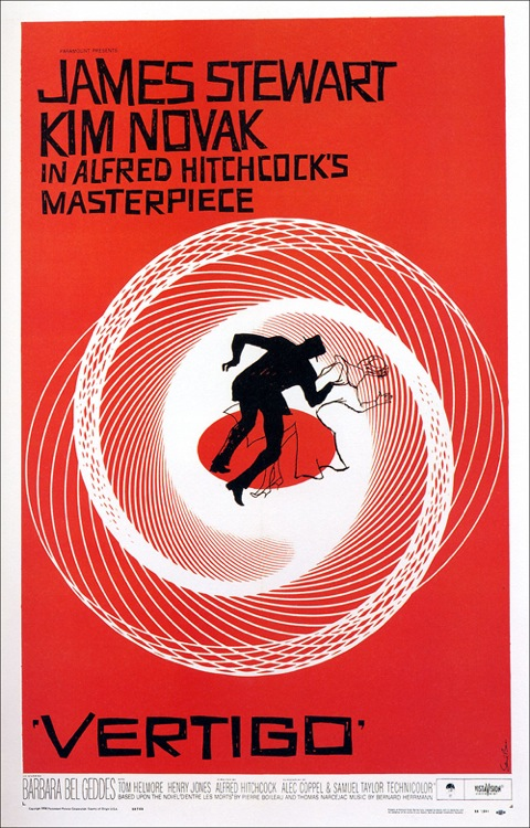 Vertigo, by Saul Bass