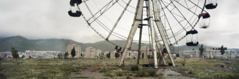 Ferris Wheel Reverse Angle, Armenia, by Wim Wenders courtesy of Haunch of Venison