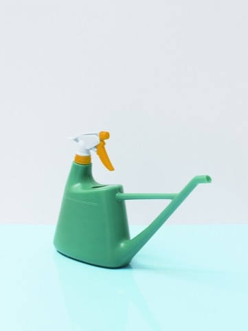 A combined watering can and spray bottle from Malaysia