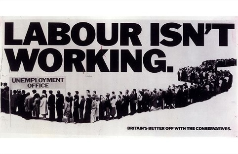 Saatchi, Labour Isn't Working,1979
