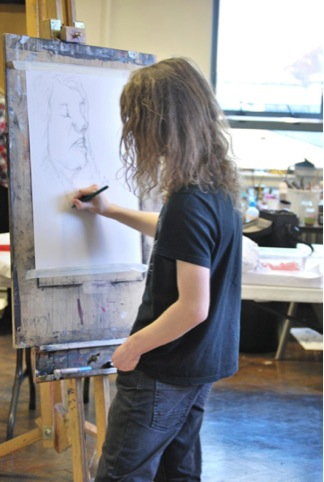 National Art  Design Saturday Club at Cleveland College of Art  Design, (c) Cleveland College of Art  Design