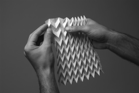 One of the folds featured in the book