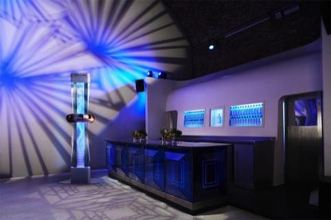 Bombay Sapphire Bar