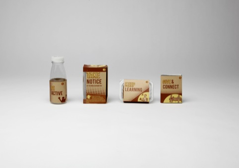 A range of packaging by Emily Kerr