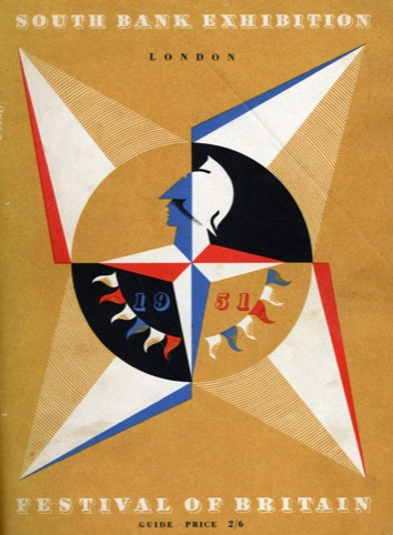 The Festival of Britain brochure cover