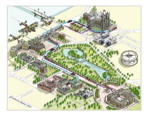 Katherine Baxter's map