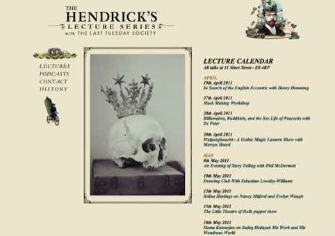 The Hendrick's Lecture Series with the Last Tuesday Society