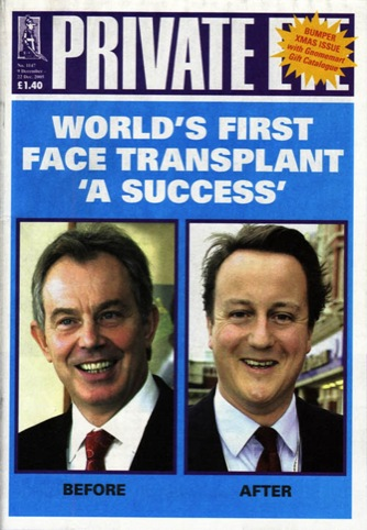 Private Eye front cover, No.1147 9-22 December, 2005