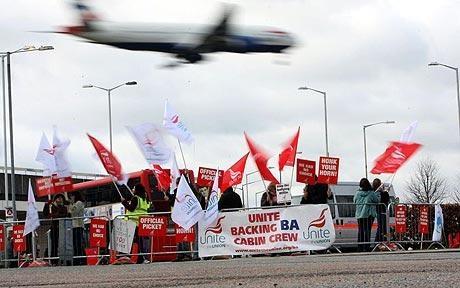 protests at BA