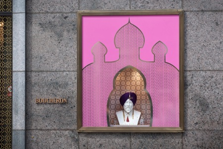 Jasleen Kaur's window for Boucheron