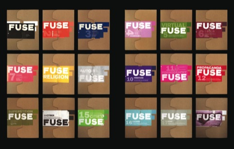 Fuse magazine in its boxes