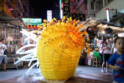 Jason Hackenwerth's ballon sculptures