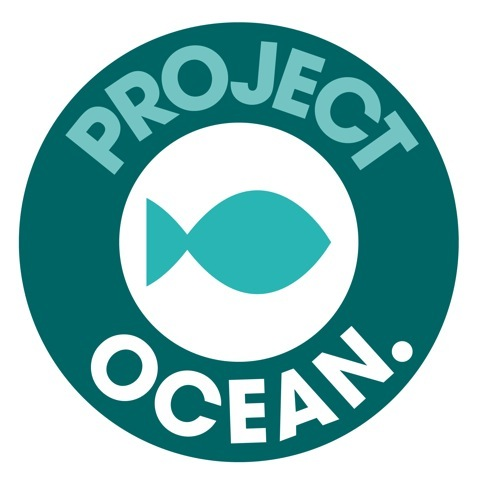Project ocean logo created by Selfridges in-house team.