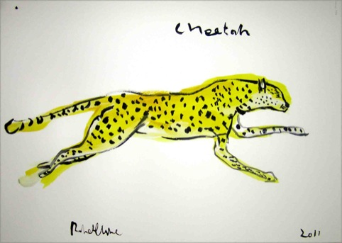 Cheetah by Robert Clarke