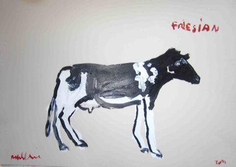 Fresian by Robert Clarke